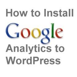Google Analytics and WordPress Plugin