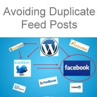Keep it simple to avoid duplicate content