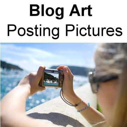 Taking Photo's for Your Blog