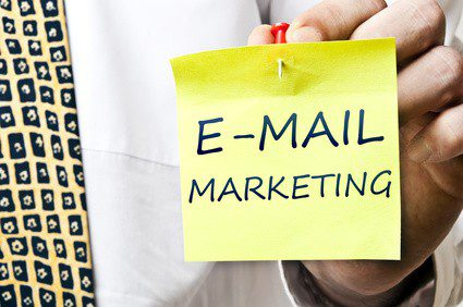 E-mail marketing using Facebook