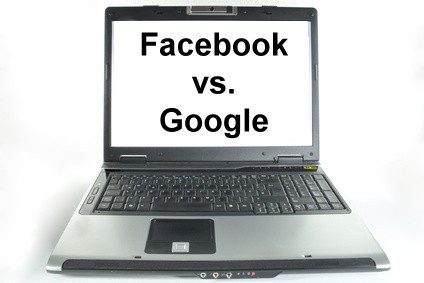 Facebook Users Spend More Time than Google Users