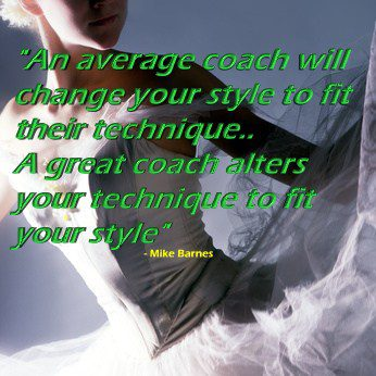 Don't change your style