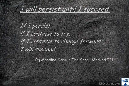 Og Mandino I Will Persist