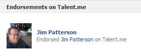 Jim Patterson Endorses Jim Patterson!