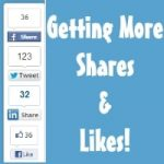 Display all social sharing buttons on your blog
