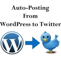 Auto Posting from WordPress to Twitter