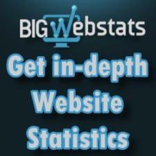 Complete website analysis with BigWebStats.com