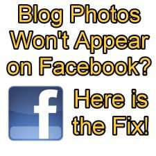Blog Images won't appear on Facebook