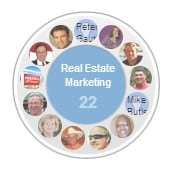 Create a real estate circle and share it