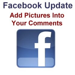 Upload Pictures Into Your Facebook Comments