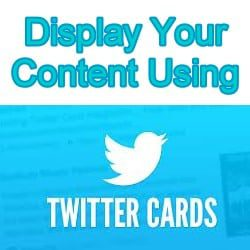 How to Add a Twitter Summary Card to Your Tweets