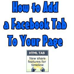 How to Add a Custom Facebook Tab to A Facebook Page