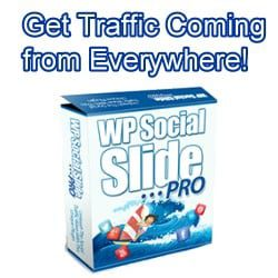 Get Traffic Coming from Everywhere - WP Social Slide Pro