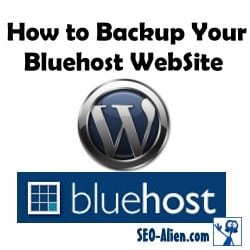 How to Backup Your BlueHost Website