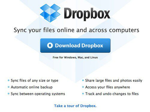 Dropbox File Sharing