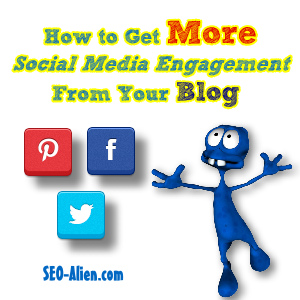 Get more Social Media Engagement from your blog?