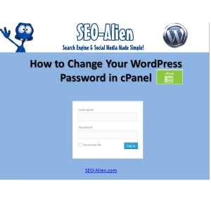 How to Change Your WordPress Password in cpanel