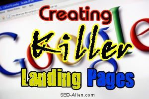 Creating killer Landing Pages