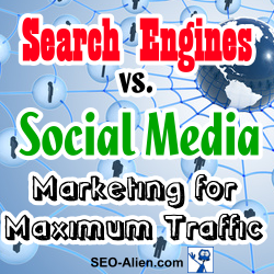 Search Engines vs.Social Media Marketing