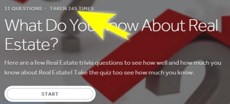 Real Estate Quiz