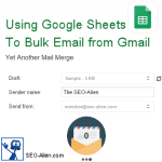 How to Bulk Email to Groups Using Google Drive Sheets