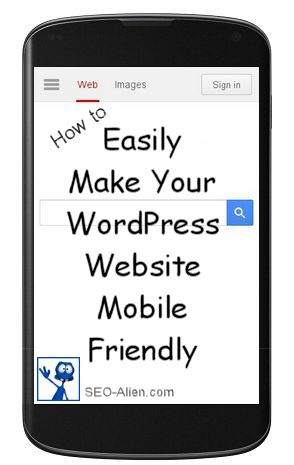 Make a Mobile Friendly Website
