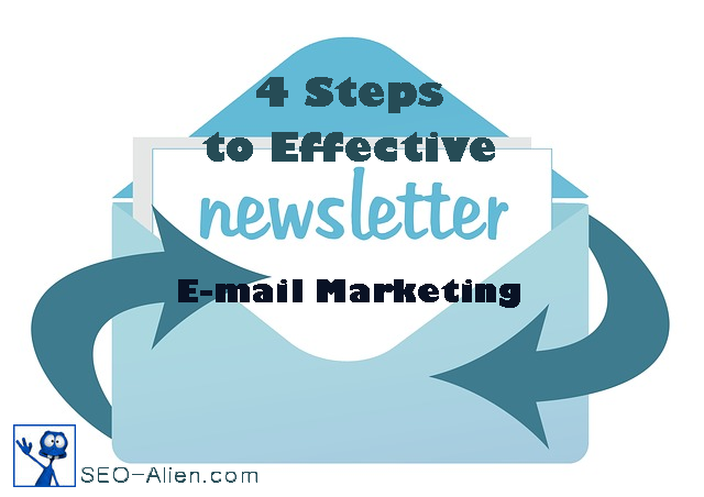 4 Steps to Effective E-mail Marketing