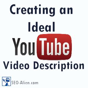 Creating YouTube Video Description