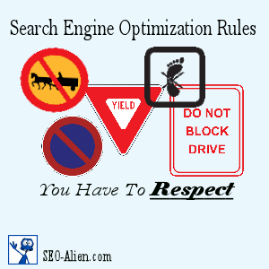 Search Engine Optimization Rules You Have To Respect