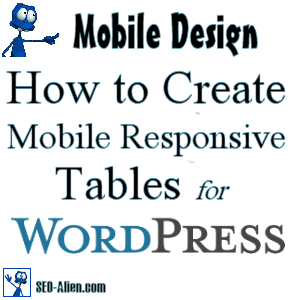 How to Make Mobile Friendly Tables