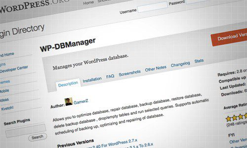 wpdbmanager