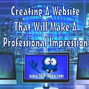 Websites that Make a Professional Impression