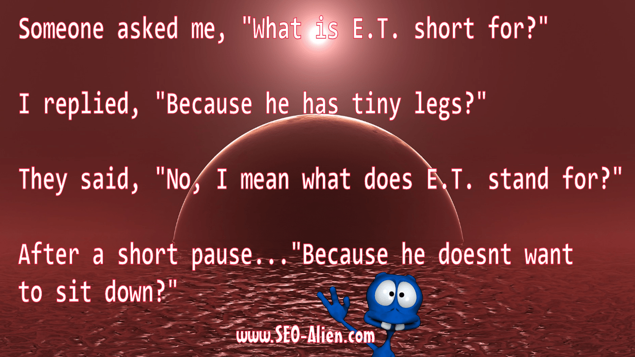 What is ET Short For?