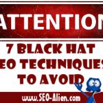 Black Hat SEO Techniques You Should Avoid