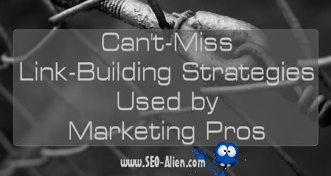 Link-Building Strategies Used by Marketing Pros