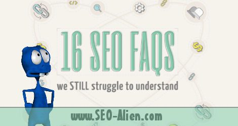 16 Frequently Asked Questions Answered about SEO – [infographic]