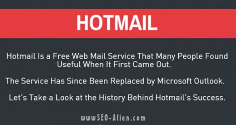 Hotmail Facts & Features [INFOGRAPHIC]